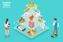 3D Isometric Flat Vector Conce...