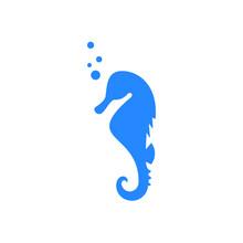 Seahorse Graphic Icon. Seahors...