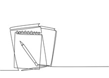 Single Continuous Line Drawing...