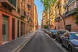 View of the Valencia´s street in Spain