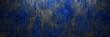 canvas print picture - Grunge Hintergrund Textur mit altem blauen Metall und Rost