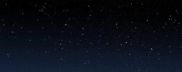dark blue sky night space background, light of outer large number of stars in universe atmosphere