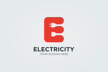 Initial Letter E Electricity L...