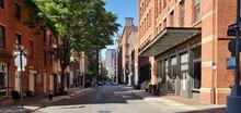 New York City - View Of Empty ...
