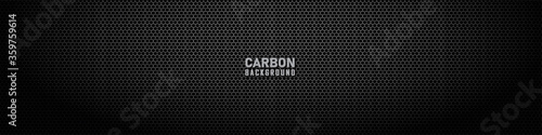 Dark hexagon carbon fiber texture Wallpaper Mural