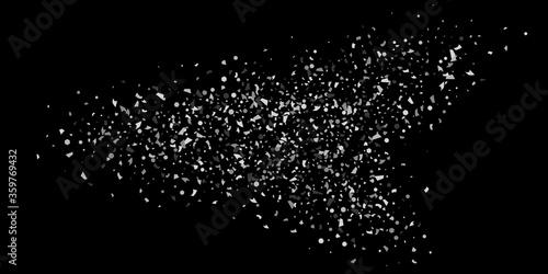Fototapeta Silver confetti. obraz