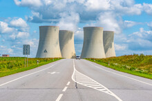 Nuclear Power Plant And Wide A...