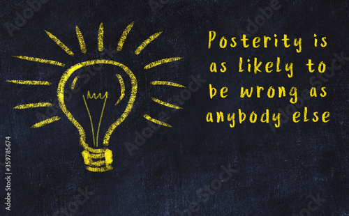 Concept of generating ideas Canvas Print