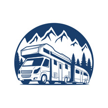 RV Recreational Van Logo
