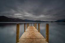 Jetty Overlooking Lake Derwent...