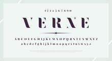 Elegant Stylish Font. Modern S...