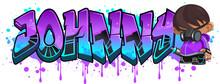 Johnny. A Cool Graffiti Name I...