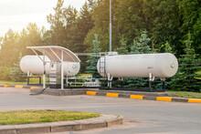 Liquid Propane Gas Station