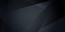 Dark Abstract Polygonal Presen...