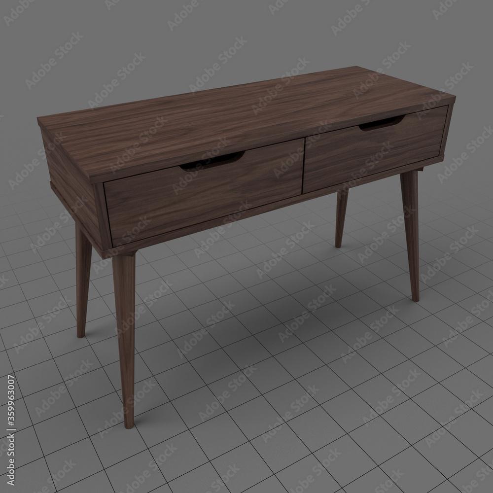 Fototapeta Modern console table 5