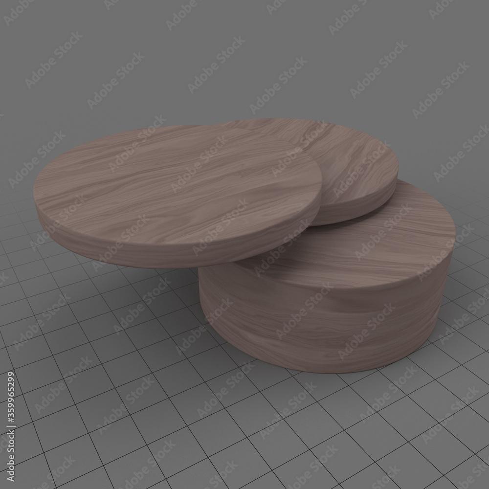 Fototapeta Modern coffee table 2