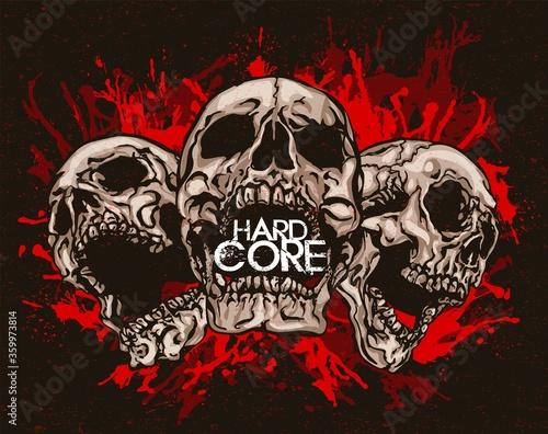 Vászonkép Hard Core