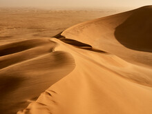 View Of The Dunes Lines In The...