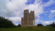 Orford Castle In County Suffolk