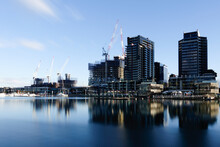 Construction Zone, Docklands, ...