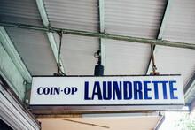 Laundrette Sign