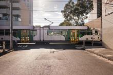 Tram Passing On Melbourne Street