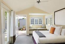 Bedroom In Luxury Hotel Suite