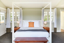 Canopy Bed In Luxury Hotel Room