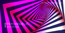 Psychedelic Background. Optica...