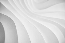 Wave Pattern Paper Sculpture B...