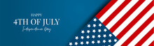 4th Of July USA Flag Banner Or...
