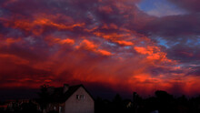 Ciepłe Kolory Chmur