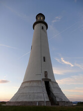The Hoad Monument, A Replica Of The Eddystone Lighthouse, In Ulverston, Lakeland District, Cumbria, England, UK.
