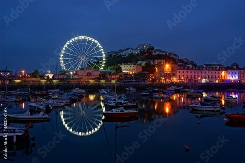 ferris wheel in Torquay English Riviera
