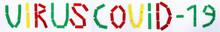 Color Inscription Virus Covid-...