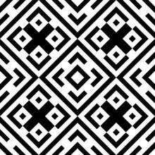 Tribe Motif. Ethnic Wallpaper....