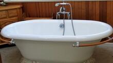 Antique Bath Tub And Shower