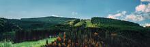 Majestic Landscape Of Summer M...