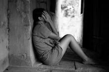 Traumatized Teenager Girl Conc...