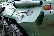 Armored Personnel Carrier. Gun...