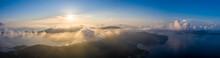 Beautiful Sunset In The Mounta...