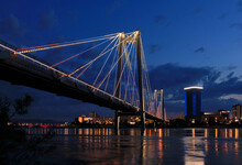 Vinogradovsy Bridge In Krasnoy...