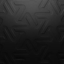 Black Abstract Hexagonal Metal...