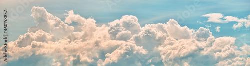 Obraz Sky clouds panorama landscape - fototapety do salonu