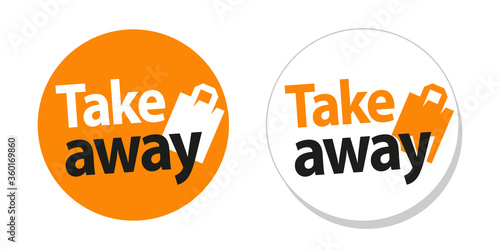 Take away sticker Canvas-taulu