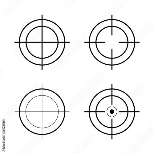 Photo Sniper rifle scope