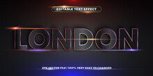 Editable Text Effect - Word London
