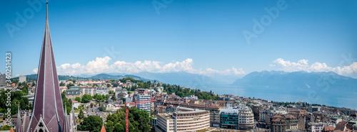 Fotografie, Tablou Lausanne