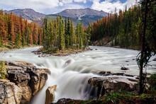 Sunwapta Falls, Icefields Parkway, Jasper, Canadian Rockies, Canada
