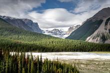 Glacier And Green Landscape, I...